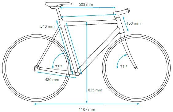 Elección talla bicicleta