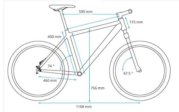Bicicleta Jealous AL Hybrid 9.0